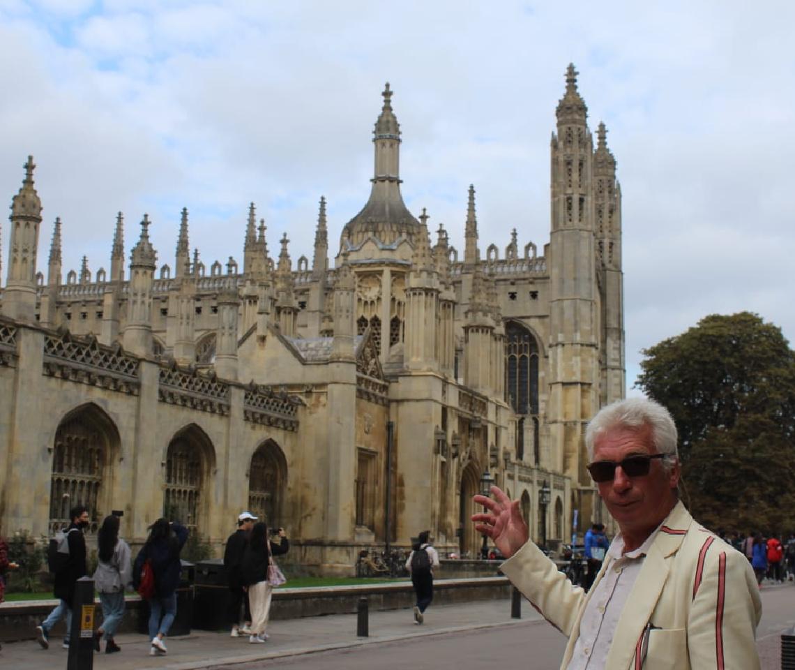 Cambridge walking tour
