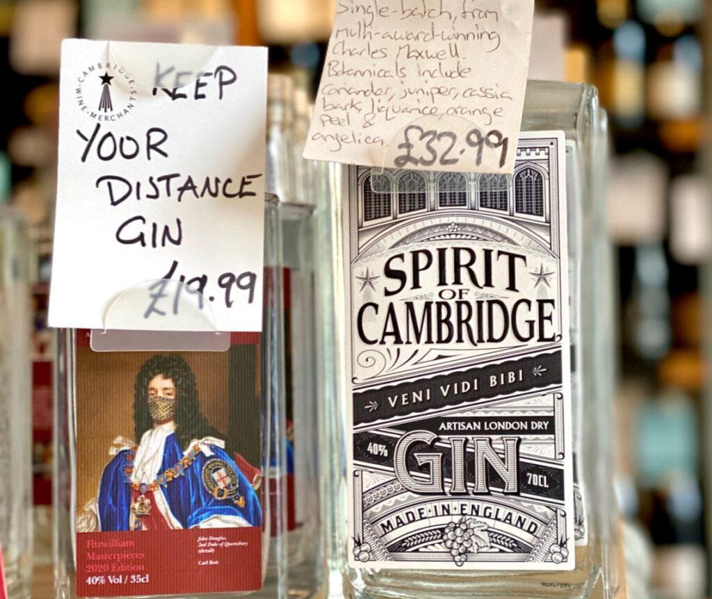 gin in cambridge